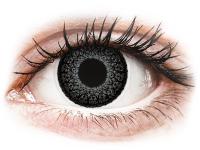 contact-lentile.ro - Lentile de contact - ColourVUE Eyelush Grey - fără dioptrie