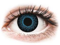 contact-lentile.ro - Lentile de contact - ColourVUE Eyelush Blue - cu dioptrie