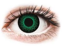 contact-lentile.ro - Lentile de contact - ColourVUE Eyelush Green - cu dioptrie