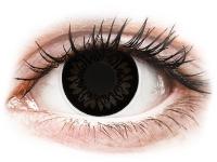 contact-lentile.ro - Lentile de contact - ColourVUE BigEyes Dolly Black - fără dioptrie