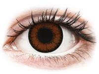 contact-lentile.ro - Lentile de contact - ColourVUE BigEyes Pretty Hazel - fără dioptrie