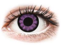 contact-lentile.ro - Lentile de contact - ColourVUE BigEyes Ultra Violet - fără dioptrie