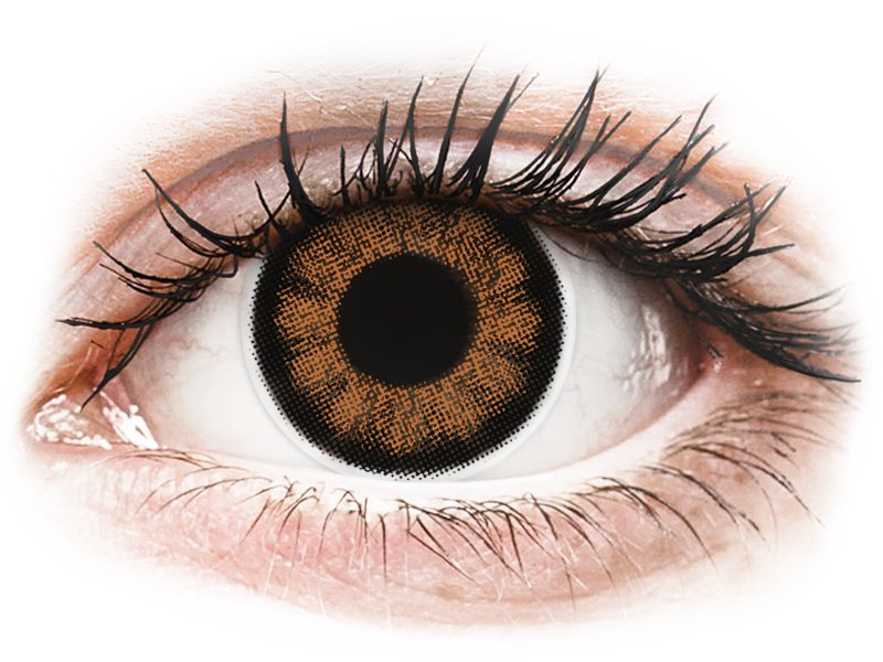 ColourVUE BigEyes Sexy Brown - cu dioptrie (2 lentile)