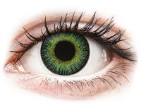 contact-lentile.ro - Lentile de contact - ColourVUE Fusion Green Yellow - fără dioptrie