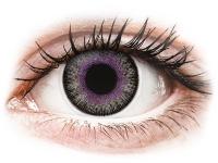 contact-lentile.ro - Lentile de contact - ColourVUE Fusion Violet Gray - fără dioptrie