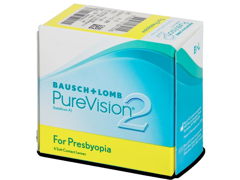 Purevision 2 for Presbyopia (6lentile)