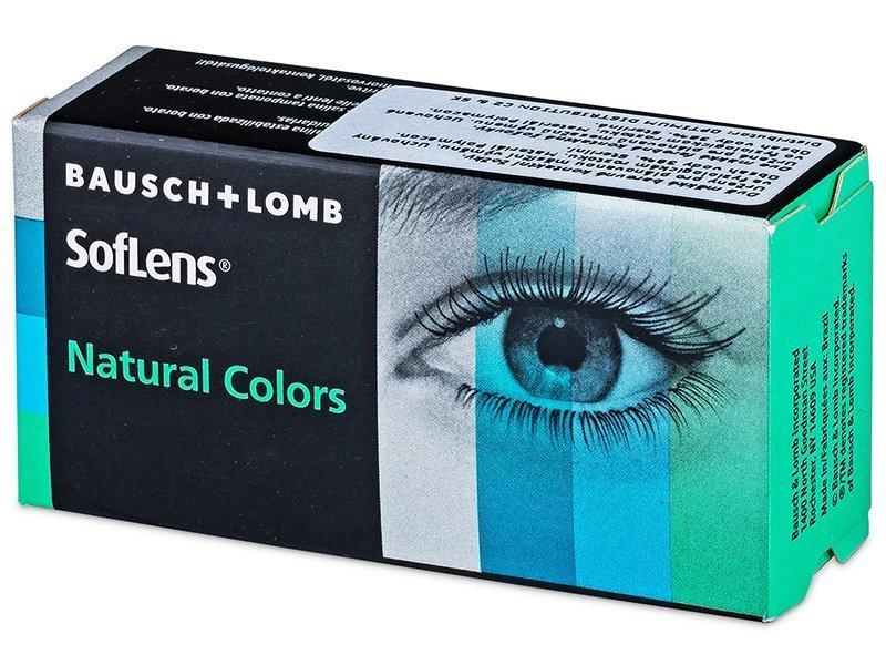 SofLens Natural Colors Platinum - fără dioptrie (2 lentile)