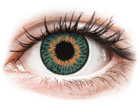contact-lentile.ro - Lentile de contact - Expressions Colors Aqua - fără dioptrie