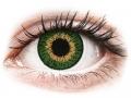 Lentile de Contact Cooper Vision - Expressions Colors Green - cu dioptrie (1 lentilă)
