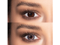 FreshLook ColorBlends Grey - fără dioptrie (2 lentile)