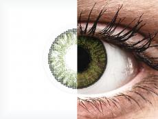 FreshLook ColorBlends Green - fără dioptrie (2 lentile)