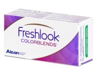 FreshLook ColorBlends Honey - cu dioptrie (2 lentile)