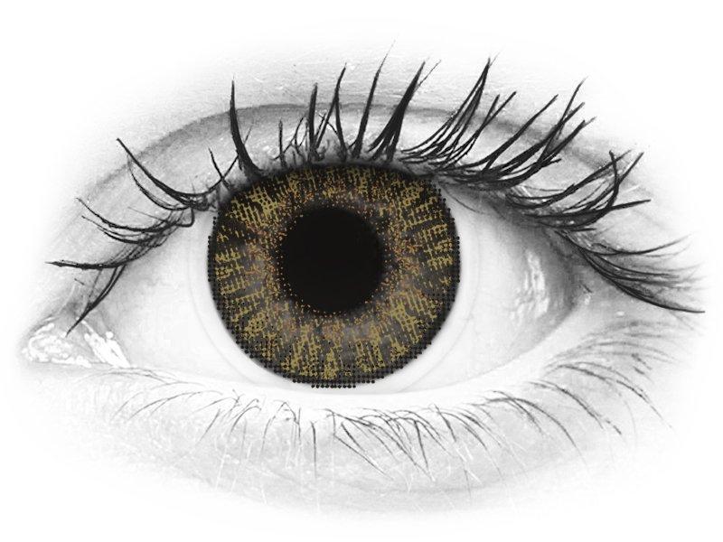 FreshLook ColorBlends Pure Hazel - fără dioptrie (2 lentile)