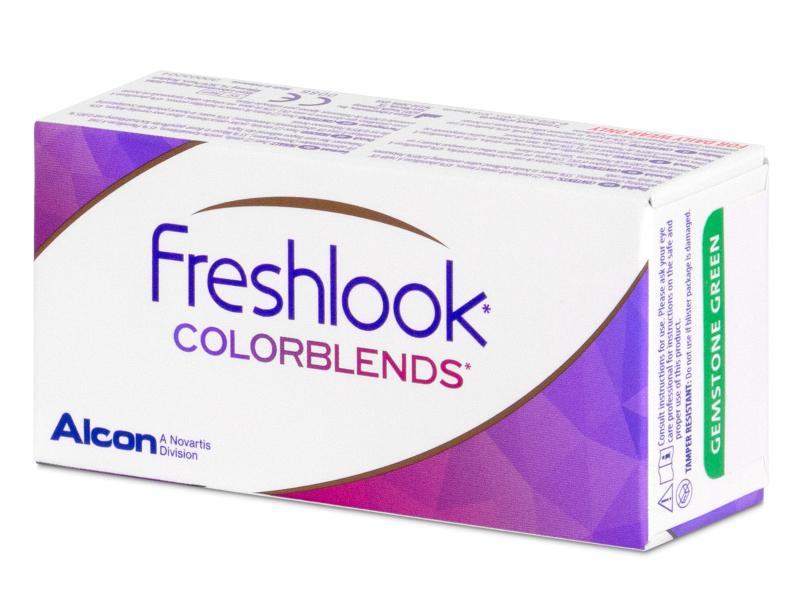 FreshLook ColorBlends Sterling Gray - cu dioptrie (2 lentile)