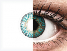 FreshLook ColorBlends Turquoise - cu dioptrie (2 lentile)