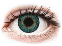 contact-lentile.ro - Lentile de contact - FreshLook ColorBlends Turquoise - fără dioptrie