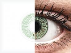 FreshLook Colors Green - cu dioptrie (2 lentile)
