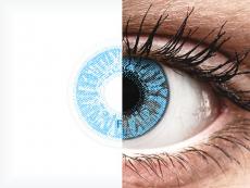 FreshLook Colors Sapphire Blue - cu dioptrie (2 lentile)