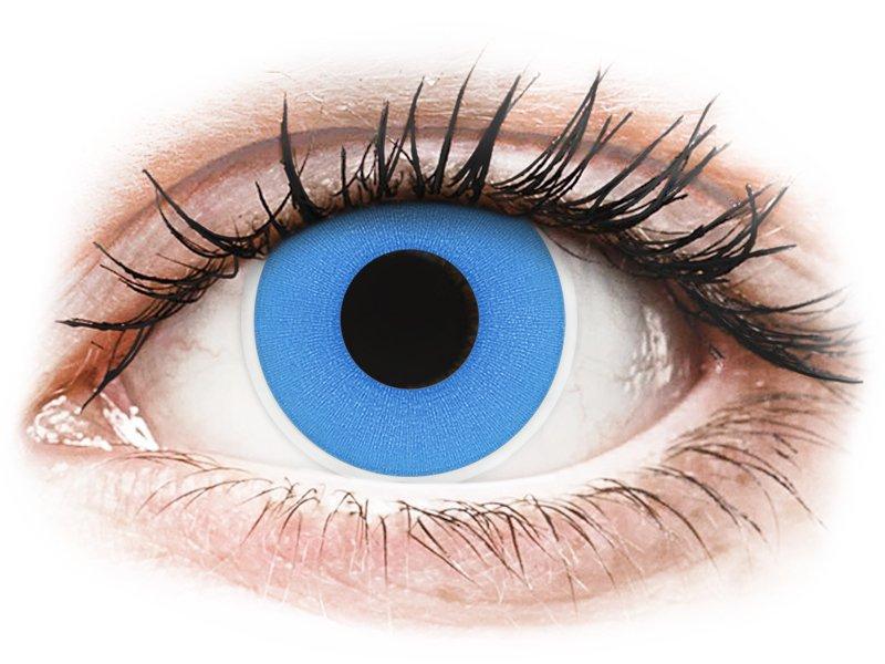 ColourVUE Crazy Lens - Sky Blue - lentile zilnice fără dioptrie (2 lentile)