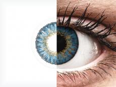 Air Optix Colors - True Sapphire - cu dioptrie (2lentile)