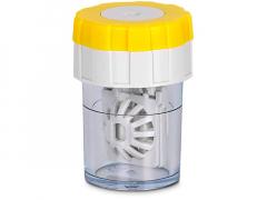 Suport rotativ pentru lentile -  galben