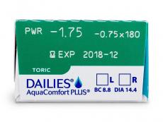Dailies AquaComfort Plus Toric (30lentile)