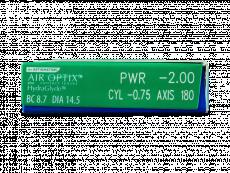 Air Optix plus HydraGlyde for Astigmatism (6lentile)