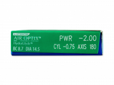 Air Optix plus HydraGlyde for Astigmatism (3 lentile)