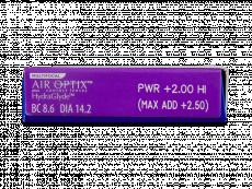 Air Optix plus HydraGlyde Multifocal (3 lentile)