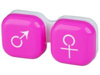 contact-lentile.ro - Lentile de contact - Suport pentru lentile man&woman - roz