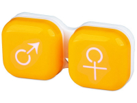 contact-lentile.ro - Lentile de contact - Suport pentru lentile man&woman -galben