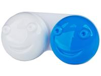 contact-lentile.ro - Lentile de contact - Suport pentru lentile 3D - albastru