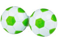 contact-lentile.ro - Lentile de contact - Suport pentru lentile Football - verde