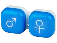 contact-lentile.ro - Lentile de contact - Suport pentru lentile man&woman -albastru