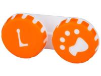 contact-lentile.ro - Lentile de contact - Suport pentru lentile Paw portocaliu