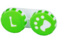 contact-lentile.ro - Lentile de contact - Suport pentru lentile Paw verde