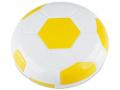 Set pentru lentile de contact - Casetă cu oglindă Football - galbenă