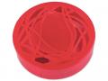 Accesorii lentile de contact - Casetă cu oglindă-cu ornament, roșie