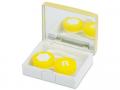 Accesorii lentile de contact - Casetă Elegant  - aurie