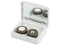 contact-lentile.ro - Lentile de contact - Casetă Elegant  - argintie
