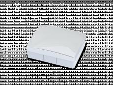 Casetă Elegant  - argintie