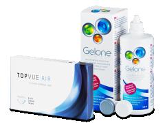 TopVue Air (6 lentile) +Gelone 360 ml