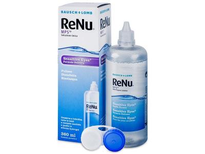 Soluție ReNu MPS Sensitive Eyes 360 ml