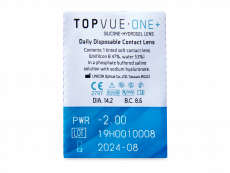 TopVue One+ (180 lenses)