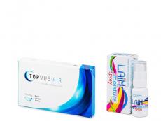 TopVue Air (6 lentile) + Laim Moisture spray