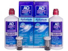 Soluție AO SEPT PLUS HydraGlyde 2x360ml
