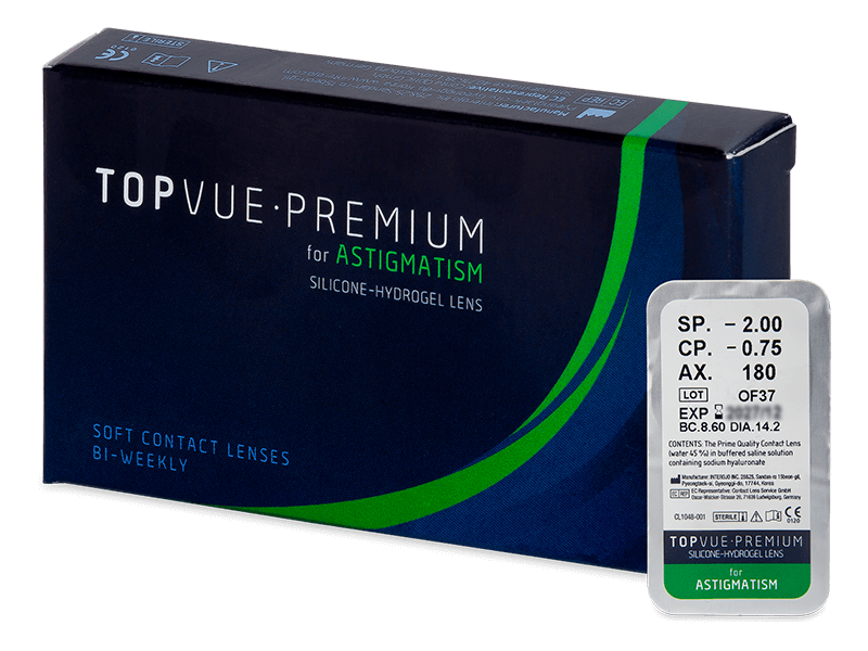 TopVue Premium for Astigmatism (1lentilă)