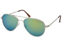 contact-lentile.ro - Lentile de contact - Ochelari de soare Silver Pilot - Albastru/Verde