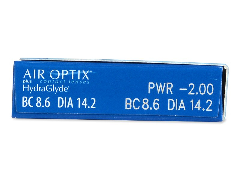 Air Optix plus HydraGlyde (6 lentile)
