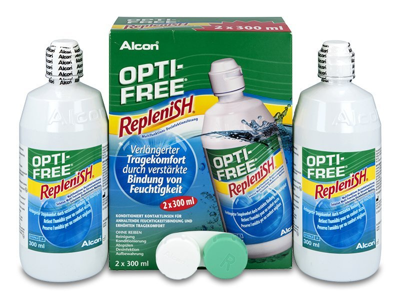 Soluție OPTI-FREE RepleniSH 2x300ml